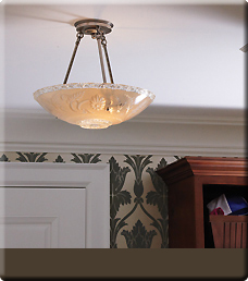 Brass Light Gallery's Vintage Ceiling Lighting - Summer's Day button