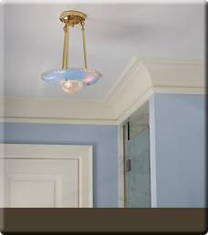Brass Light Gallery's Vintage Ceiling Lighting - Blue Cosmos button