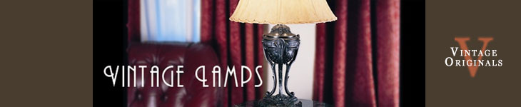 Vintage Originals - Chandelier Light Fixtures Header Image