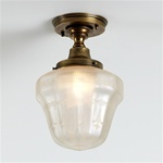 Opalescence Flush Mount