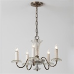 Crystal Fountain Vintage Chandelier Light