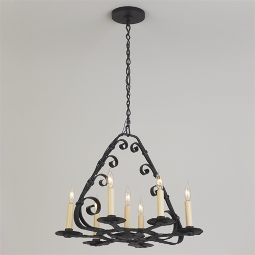 Round Iron Chandelier Choice Image Home And Lighting Design
