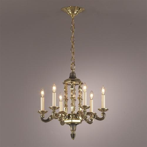 Vintage Solid Brass Pillar Light: Vintage & Antique Lighting And Light