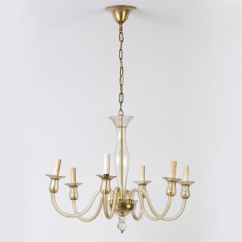 vintage chandelier, Modern Venetian Chandelier from Brass Light ...