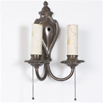 Double Arm Boa Sconce (QTY:1)