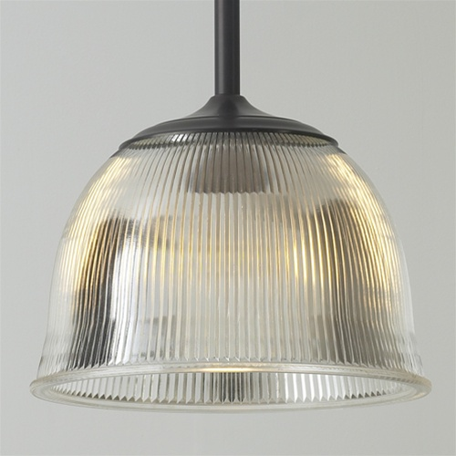 Splayed Vintage Holophane Light