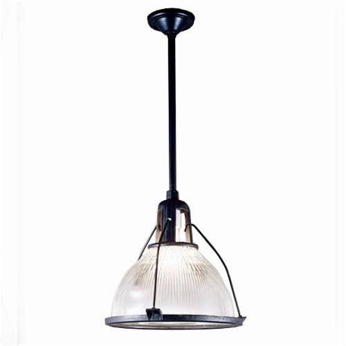 Antique industrial lighting original Holophane glass u0026 metal framework has been rewired for modern usage  sc 1 st  Vintage Brass Light & Authentic Holophane Pendant Light | Antique Industrial Lighting azcodes.com