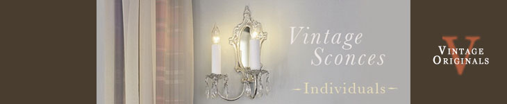 Vintage Originals - Wall Sconces Individual Header Image