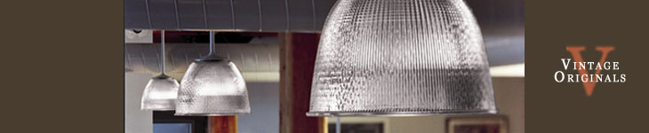 Vintage Originals - Pendant Light Fixtures Header Image