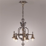 Starred Gothic Revival Chandelier