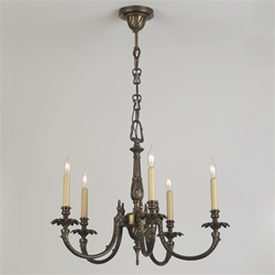 Five Candle Chandelier