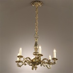 Fantastic Cast Brass Chandelier