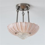 Pink Lotus Ceiling Light
