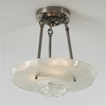 Shallow Diamond Ceiling Light