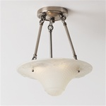 Basket Weave Ceiling Light