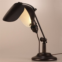 small vintage table lamp