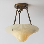 Vanilla Swirl Ceiling Light