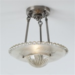 Beaded Prismatic  Ceiling Light