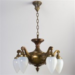 Victorian with Opaline Globes