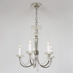 Beaded Vintage Crystal Chandelier