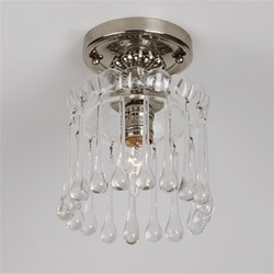 Crystal Curtain Chandelier