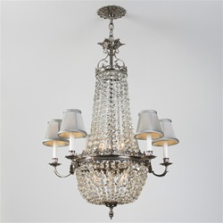 Cradle of Venus Vintage Crystal Chandelier