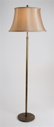 Fumed Brass Floor Lamp