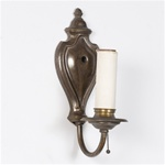 Single Arm Boa Sconce