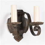 Iron Shield Sconce (QTY:1)