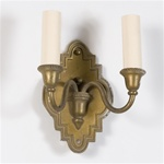 Pair of In the Rough Sconces