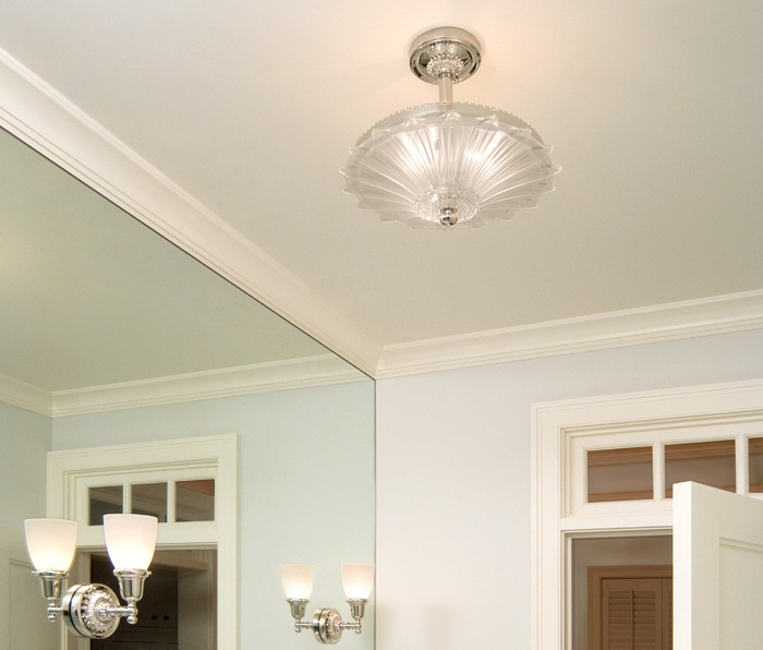 Vintage Originals Lighting Portfolio - Vintage Frost Glass Ceiling Light