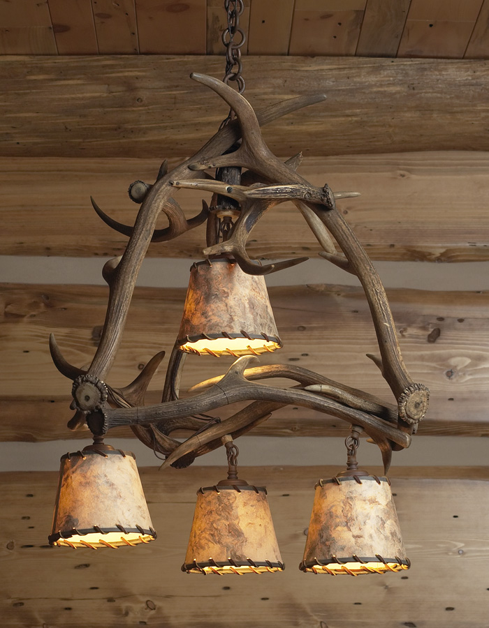 Vintage Originals Lighting Portfolio - Vintage Antler Chandelier Image