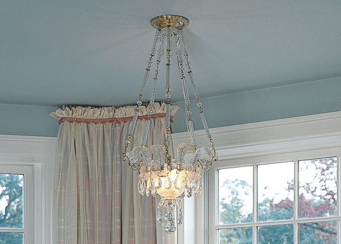 Vintage Originals Lighting Portfolio - Crystal Ceiling Fixture Image